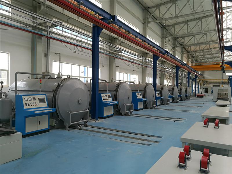 全自动真空干燥设备与真空压力浸漆设备的摆放顺序
